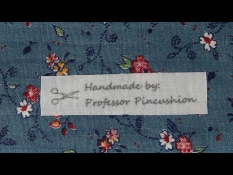Fabric Labels - How To Print On Fabric Using Inkjet Printer
