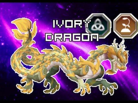 Dragon City - Ivory Dragon | Dragón marfil