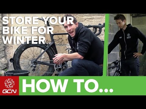 How To Store Your Road Bike Over Winter