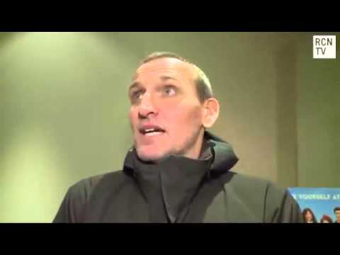 Christopher Eccleston Being Ironic Interview