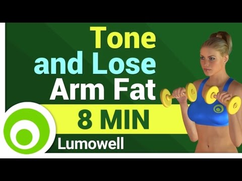Slim and Toned Arms Exercises - 8 Minute Workout