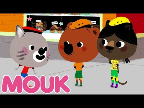 Mouk - Dragon skates (New York - USA) | Cartoon for kids