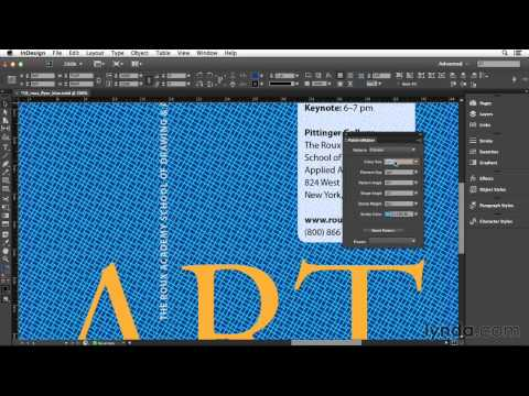 02 121 121 Making InDesign patterns with the free PatternMaker