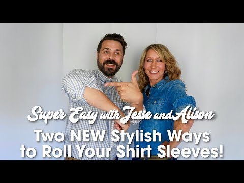 Stylish Ways to Roll Up Shirt Sleeves