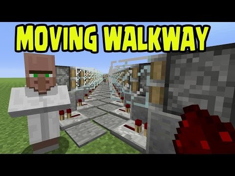 Minecraft PS3, PS4, Xbox, Wii U - AUTOMATIC MOVING WALKWAY