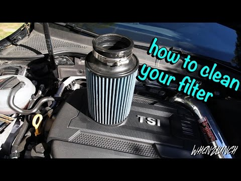 How to clean your Injen Filter