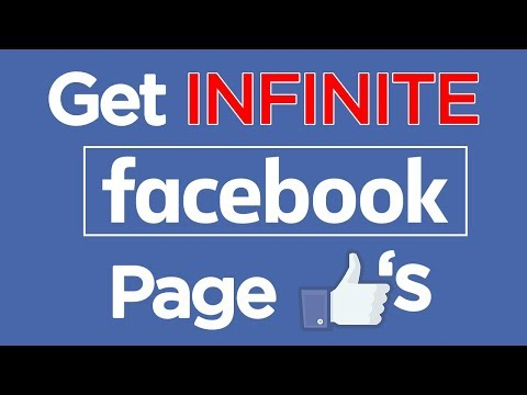 Get INFINITE Facebook Page Likes |  How to get REAL Facebook Followers 2017