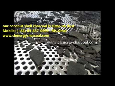 We are the leading of coconut shell charcoal manufacturer in Thailand.