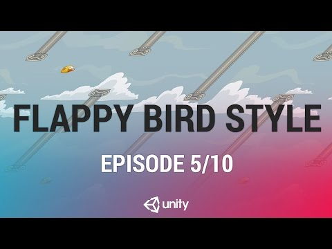 Flappy Bird Style - Score and Game Over UI [5/10] Live 2016/12/19