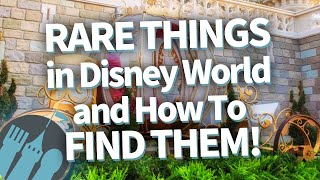 The RAREST Things in Disney World (And How to FIND THEM)!
