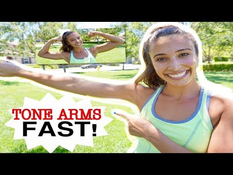 INSANE 5 MIN WORKOUT FOR TONING ARMS IN ONE DAY!!!  II FHYT