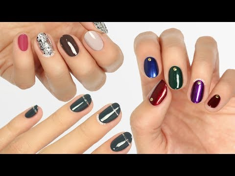 3 Easy Minimalistic Fall/Winter Manicure Ideas!
