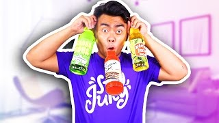 GUAVA JUICE TRIES WEIRD SODAS 2! (EXTREME NASTY!)
