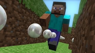 Minecraft vs Pacman