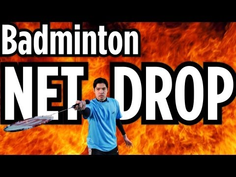 How to Do a Net Drop | Badminton Lessons