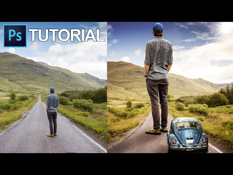 How to enlarge someone/make a giant in Photoshop