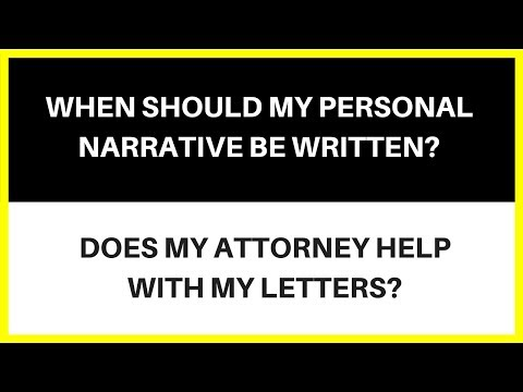 When Should I Write My Narrative?