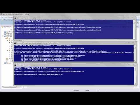 JAVA RMI (03 - app security setup)