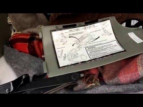 Locate Jack and Spare Tire Dodge Caravan / Change a Tire Episode 1 of 6 | Flue Guru