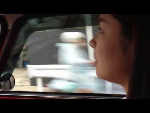 Woman drive MINI Cooper MT. 初めてのミニクーパー