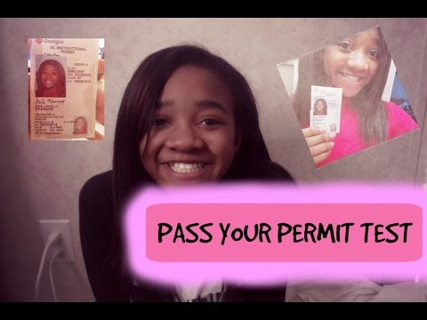 PASS YOUR PERMIT TEST (( tips and tricks ))