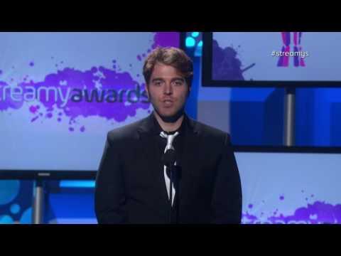 Shane Dawson Introduces Christina Grimmie Tribute - Streamy Awards 2016