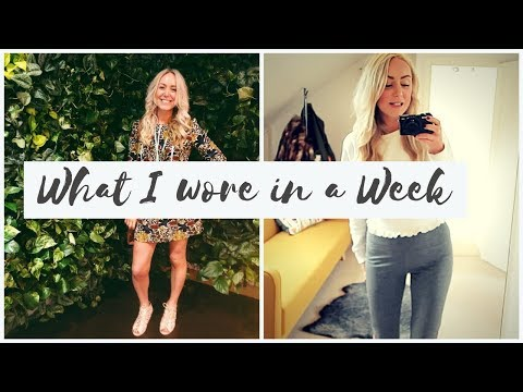 What I Wore in a Week (with Everything Mummy) | SJ STRUM