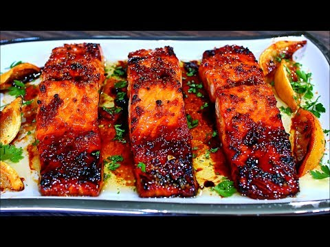 Browned Butter Honey Garlic Salmon Recipe - Easy Delicious Salmon Recipe