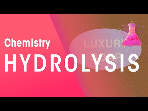 Hydrolysis and How It Is Used to Make Soaps | Chemistry Jourey | The Fuse School
