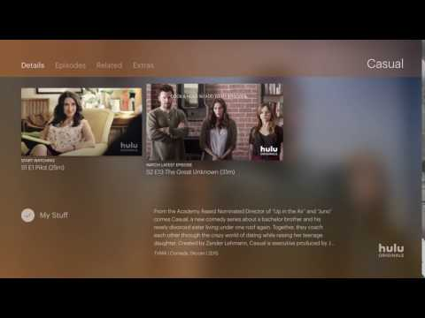 Hulu - AppleTV - Click & Hold