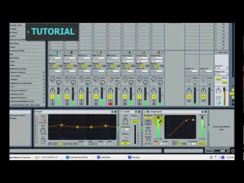 Ableton Tutorial:  Tech House Tutorial - How to create a Tech House Track in Ableton