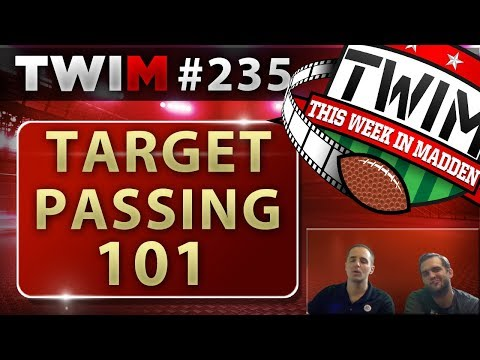 Madden 18 Gameplay | Advanced Target Passing Tips & Tutorial | How to Target Pass
