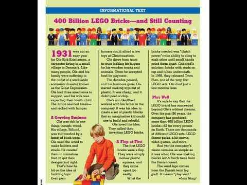 400 Billion LEGO Bricks