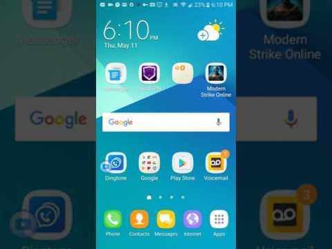 Samsung J3 emerge screen overlay detected Fix