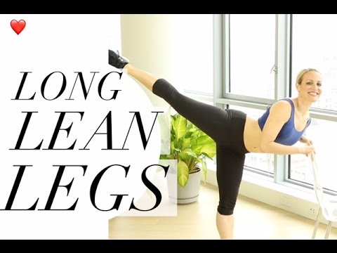 HOW TO GET DANCER LEGS | TRACY CAMPOLI | 4 EXERCISES FOR LONG LEAN LEGS