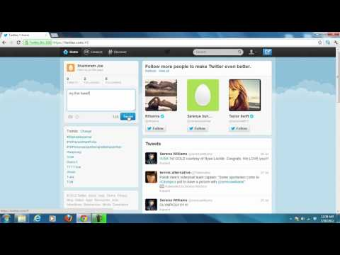 How to tweet and follow friends on Twitter