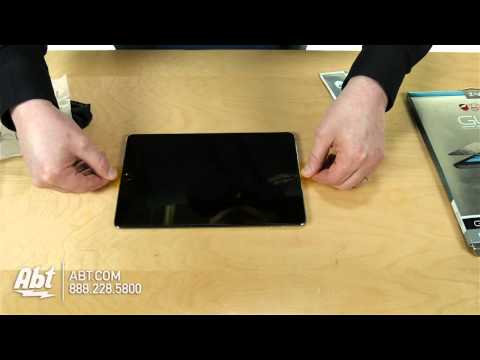 Zagg InvisibleShield iPad Air Glass Screen Protector ID5GLSF00 Overview