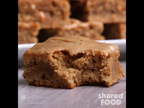 School Cafeteria Peanut Butter Bars