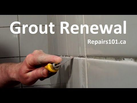 How to Make Your Bath / Shower Surround Grout Look New Again!
