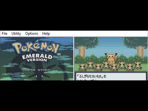 Pokemon Emerald: Scanning cards with the e-Reader in US Emerald
