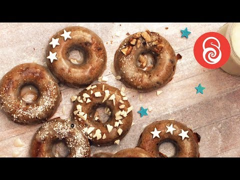 Baked Pumpkin Donuts Recipe | How to Make Pumpkin Donuts