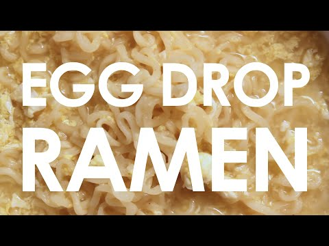 CHEAP EATS - Episode 1: Andrew Cox - Egg Drop Ramen