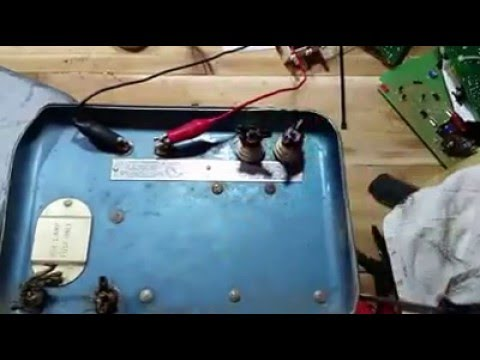 Testing Old Electric Fence Charger - Sears Fencer