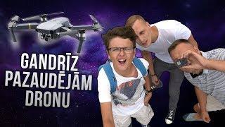 GANDRĪZ PAZAUDĒJĀM DRONU!! // Vlogs Ar NUKAPA un Ozzy Channel
