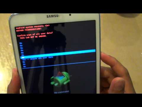 Samsung Galaxy Tab 4: How to Reset the Forgotten Password