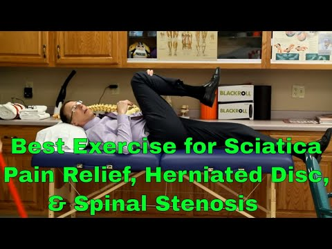 Best Exercise For Sciatic Pain Relief, Herniated Disc, & Spinal Stenosis
