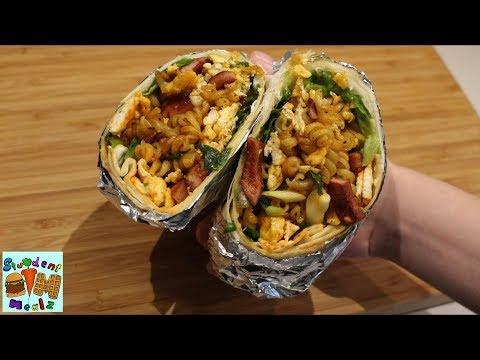 Leftover Burrito
