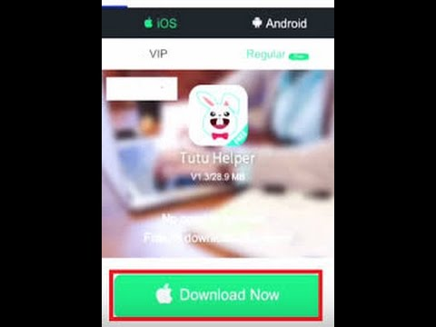 Download Paid Apps Without Apple ID & No Jailbreak No Computer[Tutu apps Free  Download