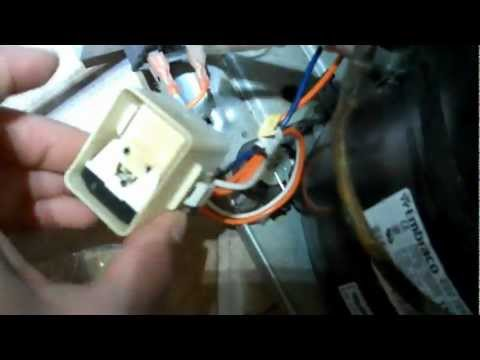 Fixing a Refrigerator Compressor that Won't Start, Compressor Relay, Condenser Fan Motor