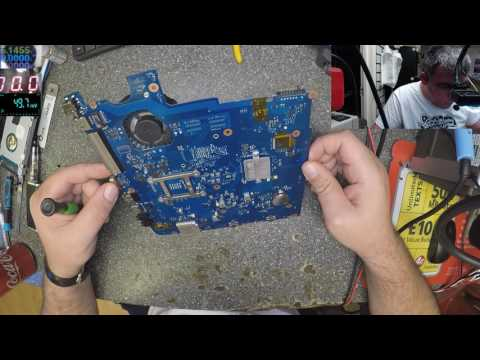 Samsung NP-300E laptop, motherboard repair